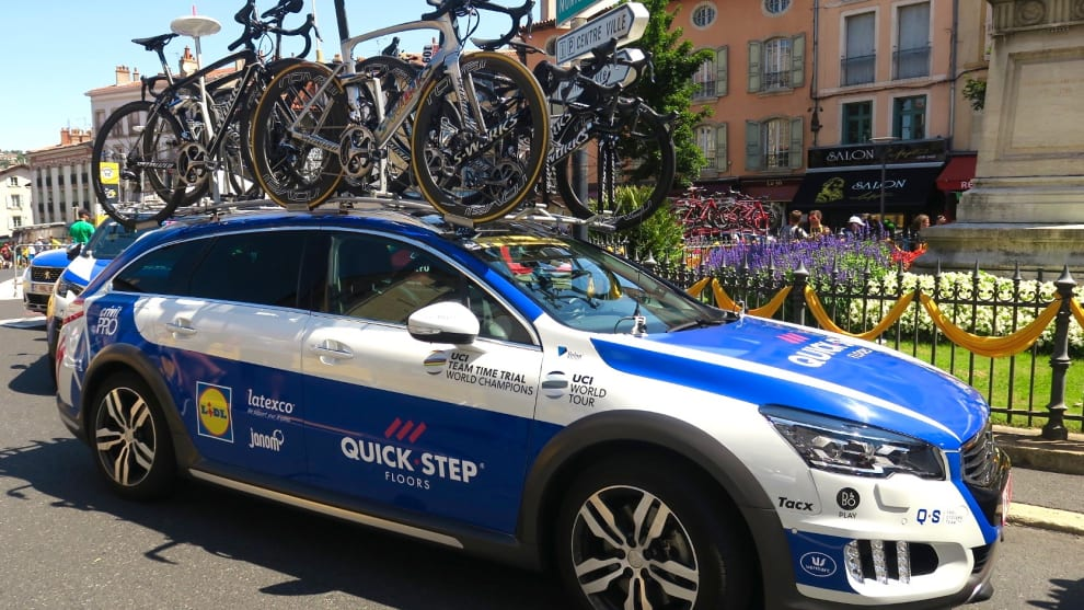 Gallery Team Cars Of The 2017 Tour De France Bicycling