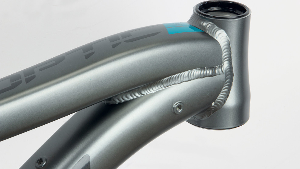 Tidy welds and some nice tube shapes ensure that the more affordable Optic models maintain a high-end appearance.