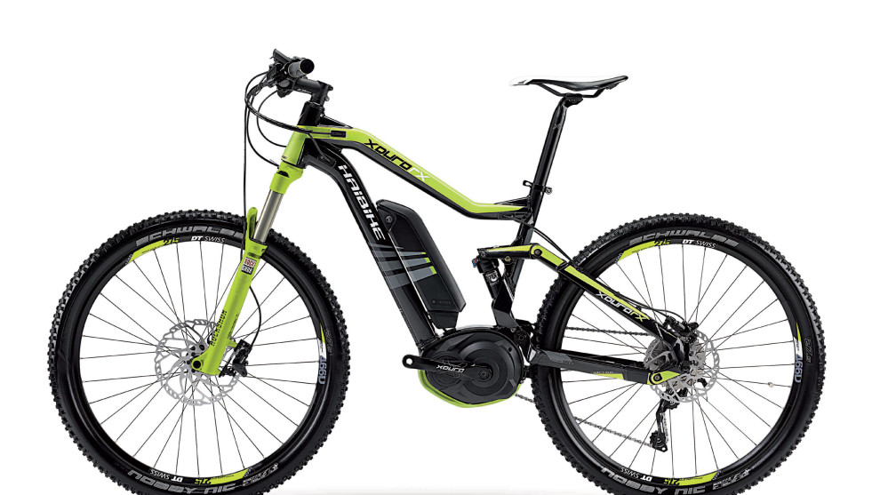 The Haibike XDuro is an EN15194 approved pedelec that sports 150mm of travel and sells for around $8,000—it's clearly aimed at the MTB enthusiast.