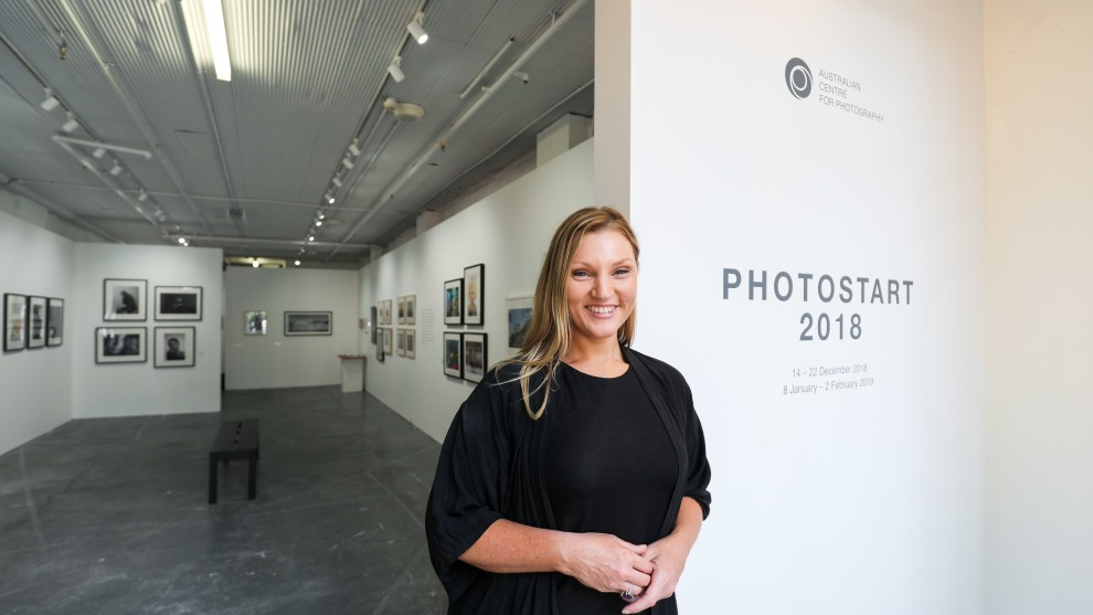 ACP CEO, Cherie McNair, at the Australian Centre for Photography's new home.
