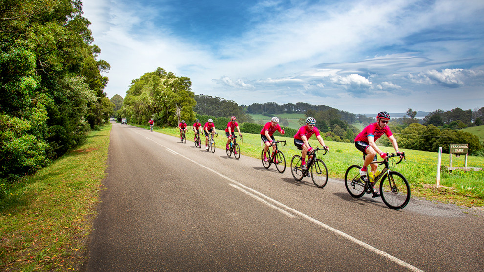 Team BMC (Beer, Mates & Cycling) enjoying spectacular conditions in the Southern Highlands over what would have been the Bowral Classic weekend. All images courtesy of Greg McCarthy / Cycling Images.