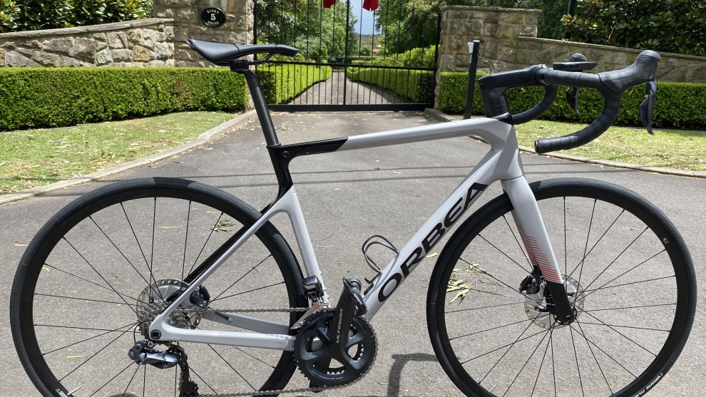 The latest Orbea Orca M20 Team. A comprehensive review of this bike will feature in the March April edition of Bicycling Australia Magazine.