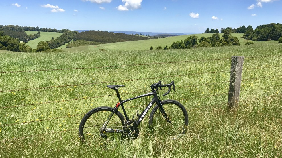 The Trek Domane SL7 was extensively tested on the stunning roads of the New South Wales Southern Highlands, home of Bicycling Australia's annual Bowral Classic Gran Fondo cycling event. Image: Nat Bromhead.