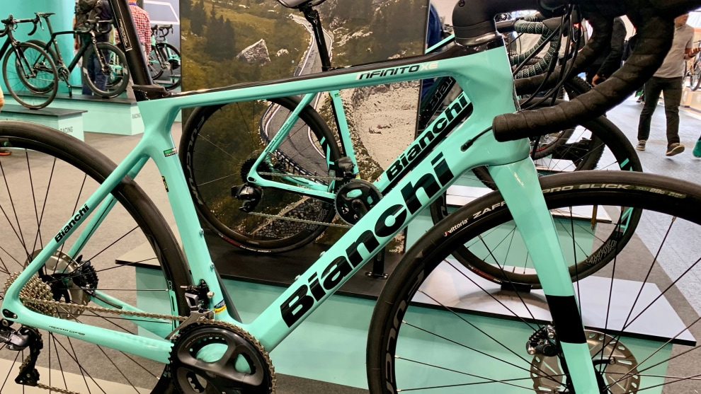 Bianchi have unveiled their new Infinito XE - an endurance-specific offering.