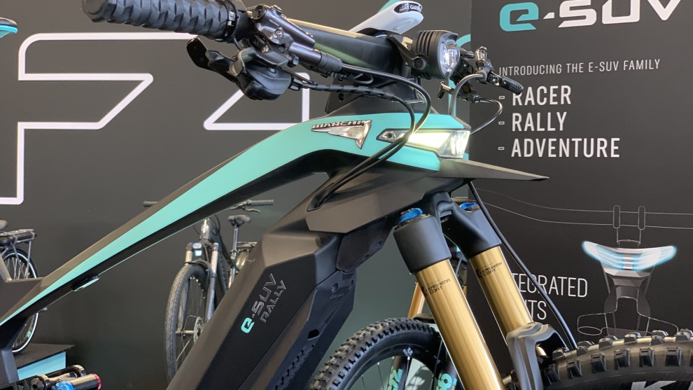 The new Bianchi SUV MTB series.