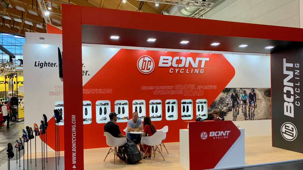 From Australia to the world - Bont Cycling at Eurobike 2019.