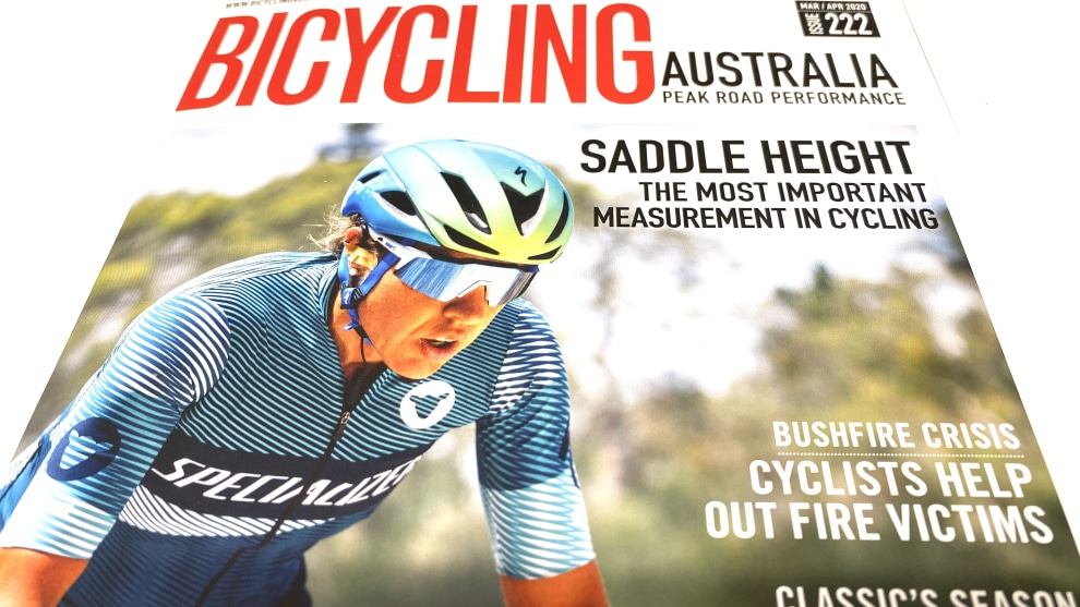 The March / April edition of Bicycling Australia is out now! You can subscribe via www.greatmagazines.com.au