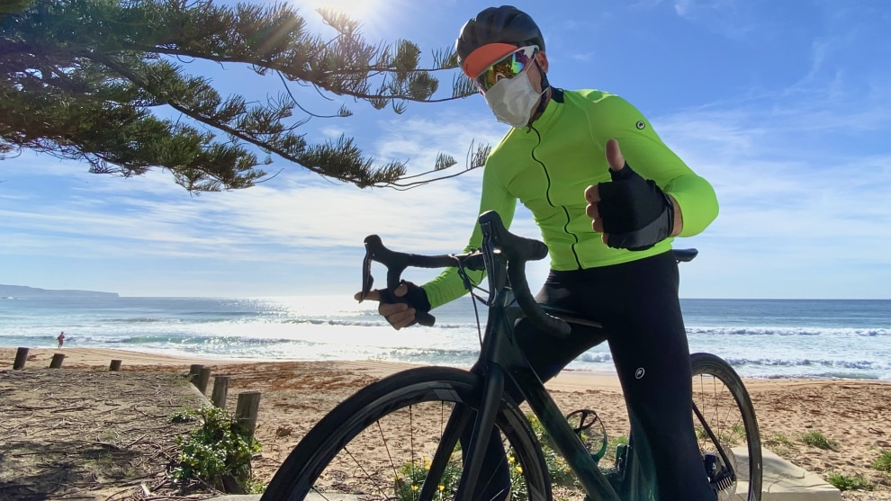 We know we know ... a mask is not 100% necessary while riding, but our core message here is to join Bicycling Australia as we band together to Ride Out The Crisis. Take our short survey - there's a link in the article below.