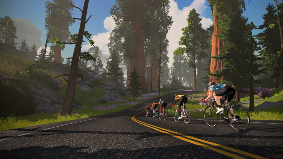 New rolling roads are now available to ride at Watopia, one of the virtual cycling world's most popular destinations.