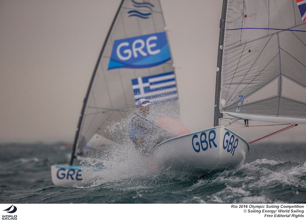 Giles Scott (GBR). Photo Sailing Energy/World Sailing.