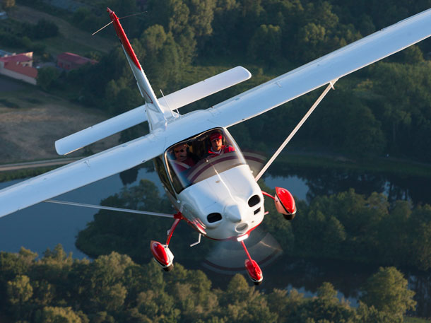 The Tecnam P Twenty-Ten represents good value for both private operators and flying schools. (Tecnam)
