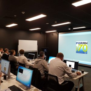 Engineers on the 3D Digital Model course. Credit: Navantia Australia