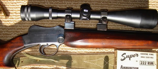 Many beautifully converted Martini Cadets are chambered in .222 Rimmed.