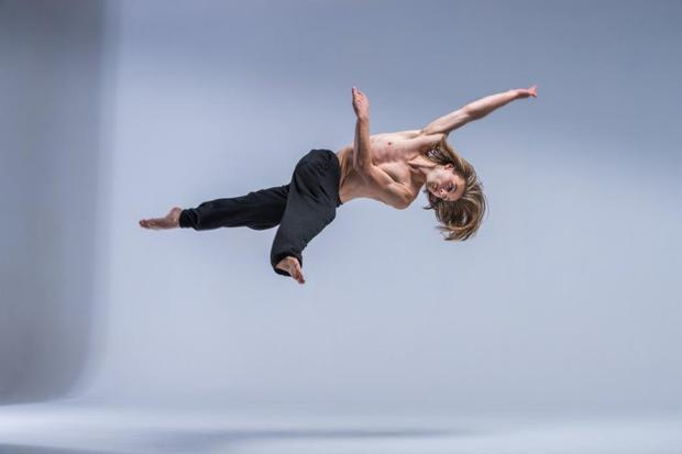 New Zealand School of Dance student Joseph Newton-Keogh. Photo: Stephen A'Court.