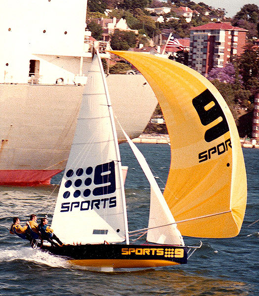 9 Sports was Dave Porter's final 18ft skiff.