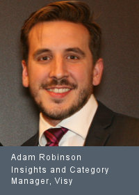 Adam Robinson Insights and Category Manager, Visy