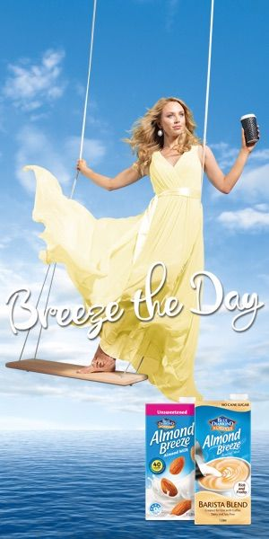 The 'Breeze the Day' campaign.