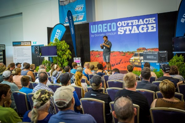 The Waeco CFX Outback Stage will feature a jam-packed line-up of industry experts and special guests throughout the three show days.