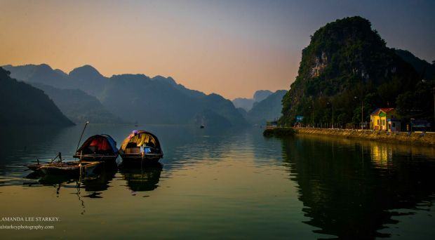 'Halong Bay Fishing,' by Amanda Starkey