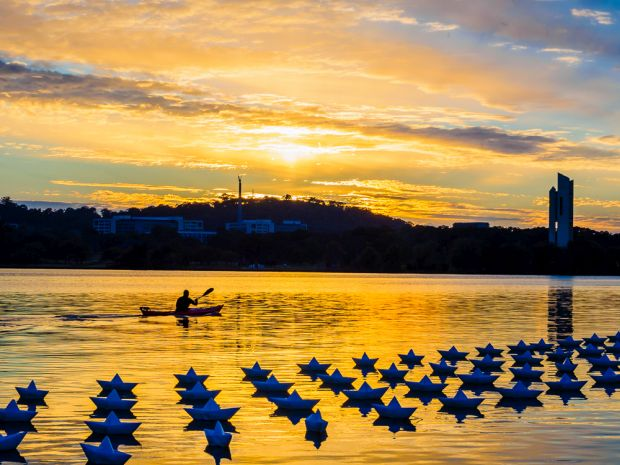 'Lake Burley Griffin,' by Brad Smith