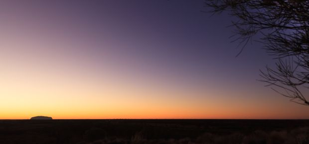 'Sunrise Over Uluru,' by Jane Griffith