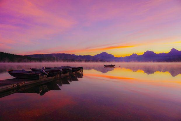 'Lake Mcdonald - Glacier National Park,' by Nathan Shafter