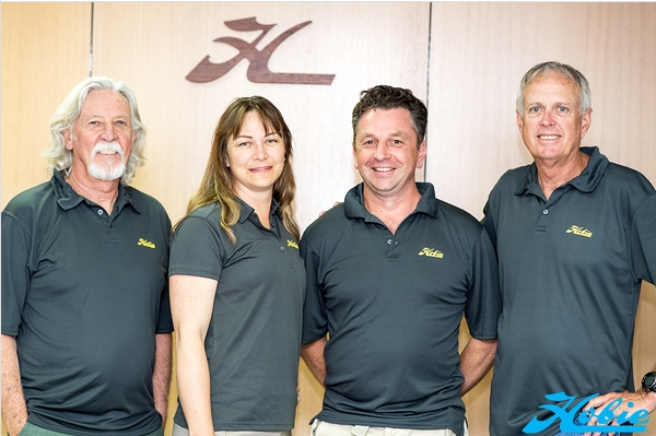 Bradely Sissens (third from left) has joined Hobie Cat Asia Pacific.