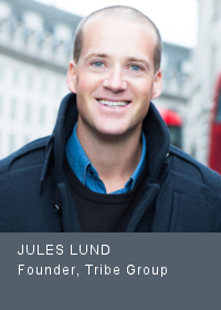 Jules Lund Founder, Tribe Group