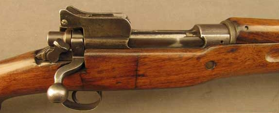 M17 Enfield is a massive, beefy, Mauser-styled miltary action, well suited to magnum cartridge conversions of yore.