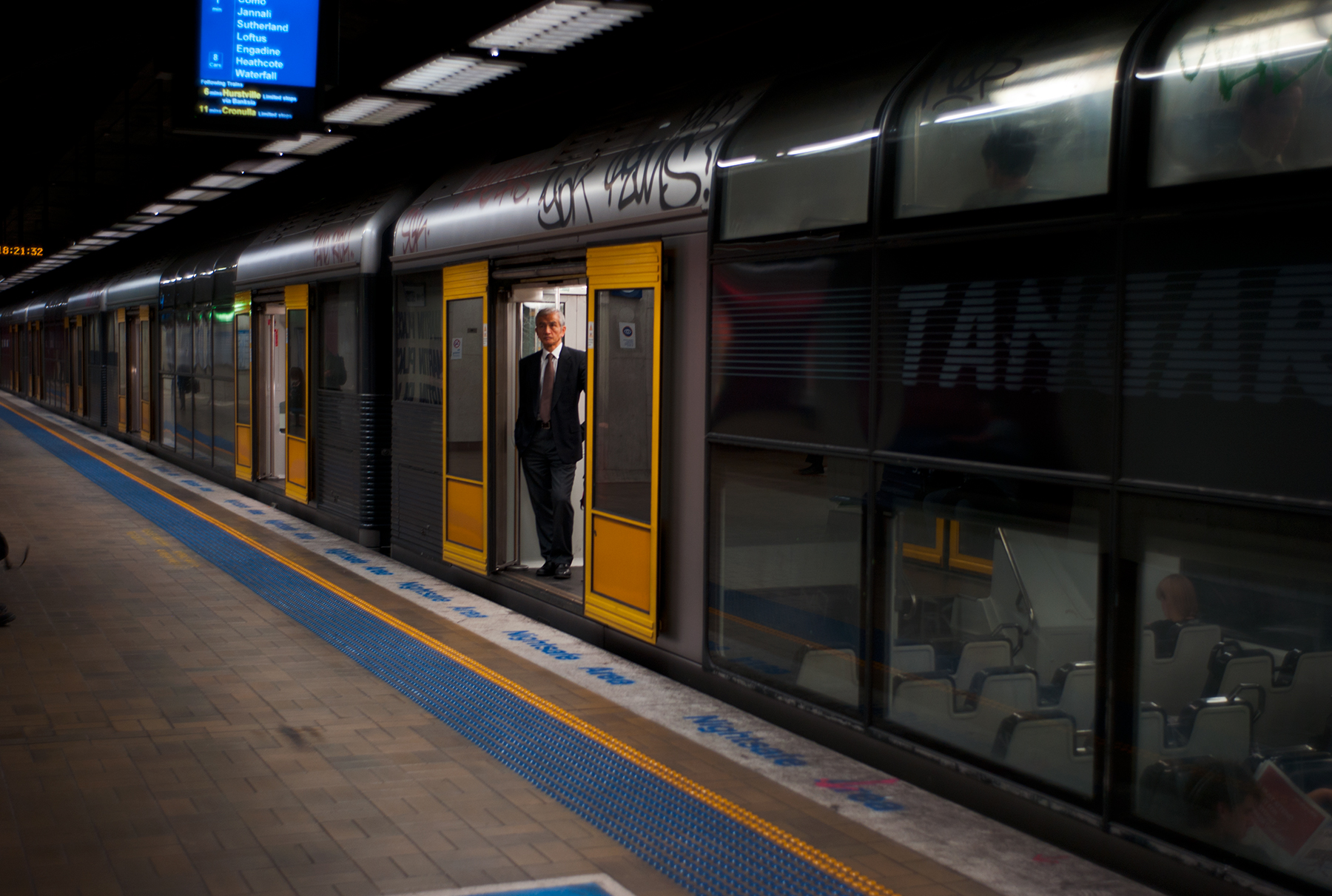 Martin Place Station, Sydney 2011. © Mike Keevers.