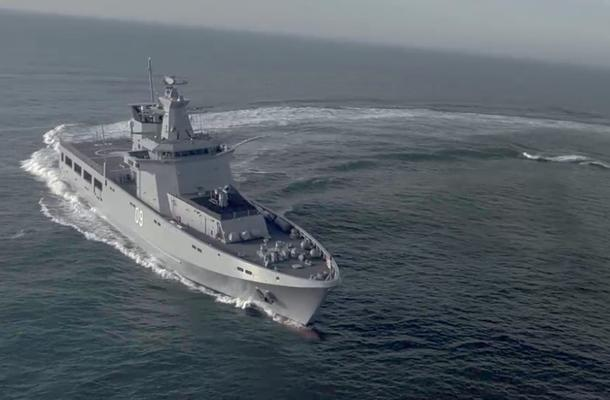 Luerssen's OPV80 design for Sea 1180. Credit: Luerssen