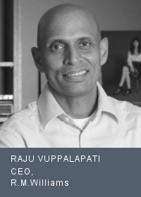 RAJU VUPPALAPATI CEO, R.M.Williams