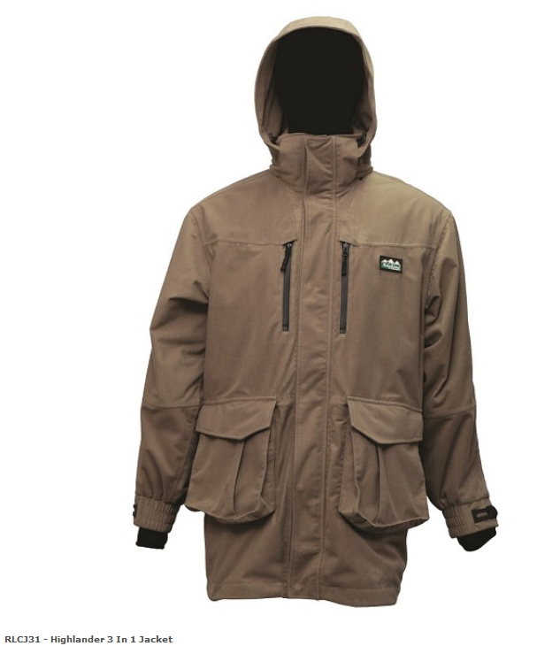 Ridgeline Highlander 3 in 1 Jacket