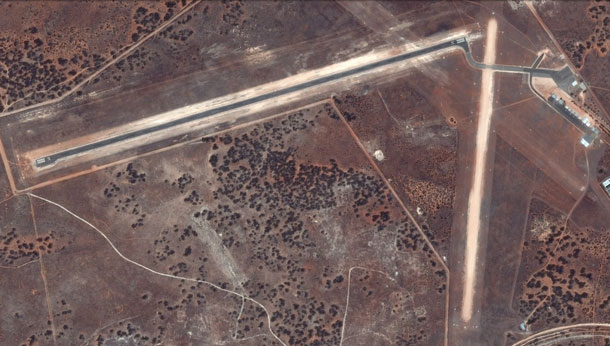Renmark Airport in South Australia. (Google Earth/CNES Astrium)