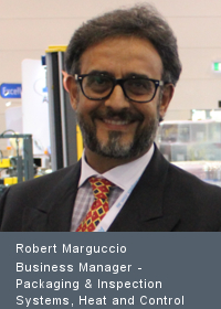 Robert Marguccio Business Manager - Packaging & Inspection Systems, Heat and Control