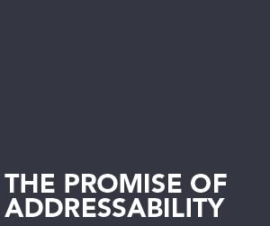 Session Promise of  addressability