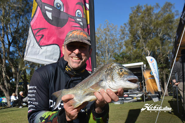 Richard Somerton from Victoria claimed the top spot and the biggest bream with this 1.41kg fish