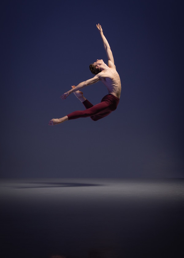 Brayden Gallucci, current recipient of the Marten Bequest travelling scholarship for ballet.