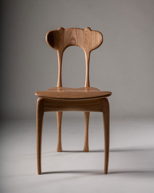 Bambi Chair, Dirk Nelson, New Zealand grown elm