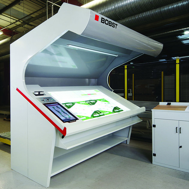 Award winner: Bobst Digital Inspection Table