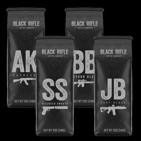 Black Rifle Coffee Company Coffee sample
