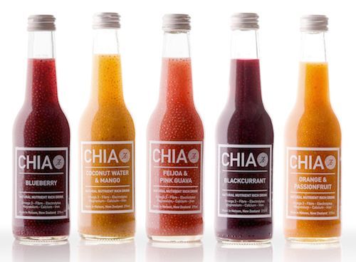 The CHIA drink has already had success in NZ.