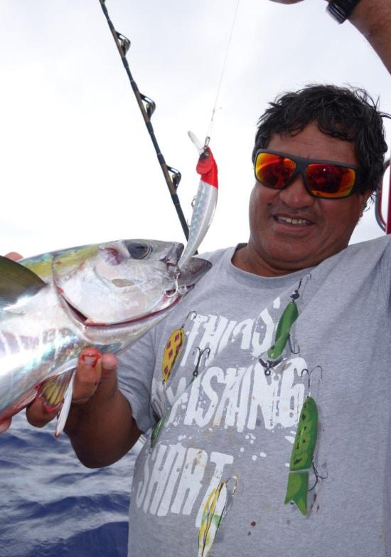 Destinations a taste of the cook islands fishing world for Matzuo fishing rod