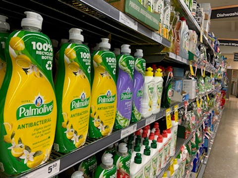 Colgate-Palmolive's 100%rPET packaging is now on shelf across a number of its household products. The packaging is manufactured by Wellman Packaging.