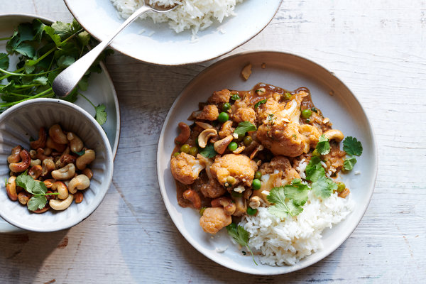 Coconut Cashew Curry