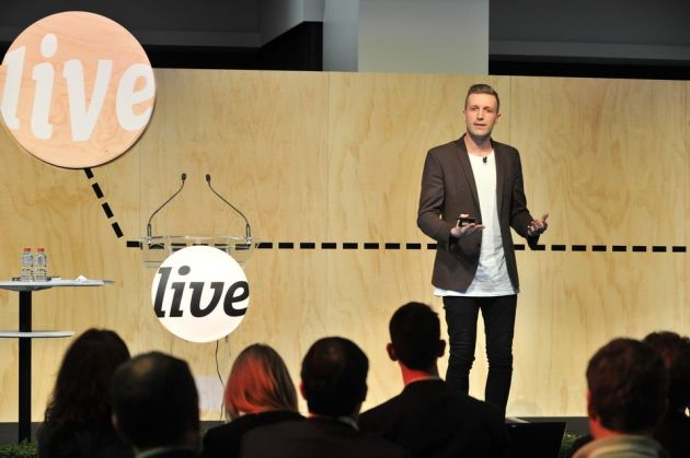 Daniel Flynn, CEO and co-founder of Thankyou, speaking at PKN LIVE in 2015.
