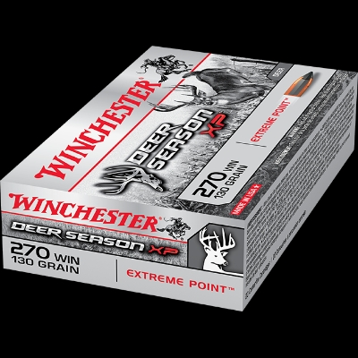 Winchester's Deer Season XP centrefire ammunition is optimised for deer hunting.