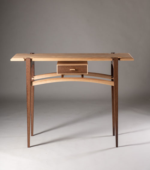 Hall Table, Carl McAllensmith, American ash