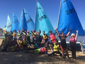 Heaps of kids sail Minnows