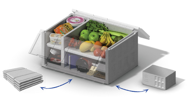 ICEE will be displaying its full range of patented flat moulded EPS and biodegradable folding boxes ideal for the online grocery delivery sector at Interpack.